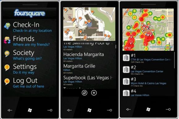 4square per Windows Phone