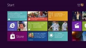L'interfaccia grafica Metro di Windows 8