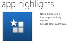 Nokia App Highlights