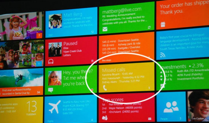Windows 8 phone call