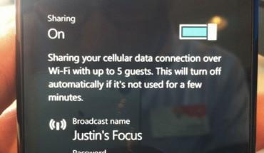 Hotspot WiFi