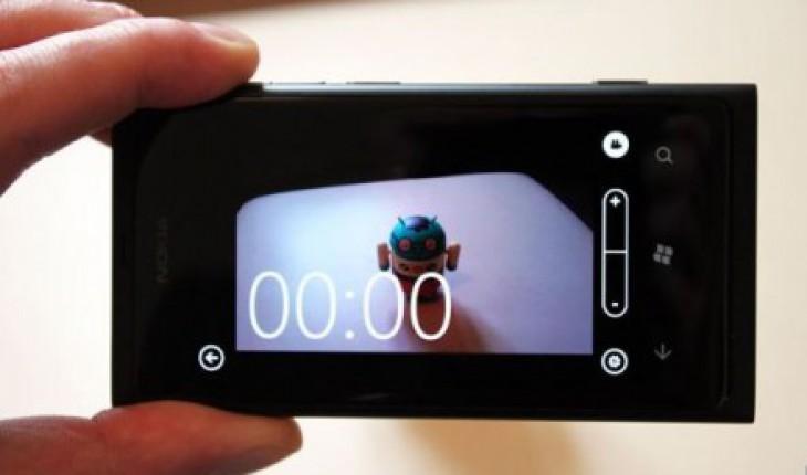 Fotocamera Nokia Lumia 800