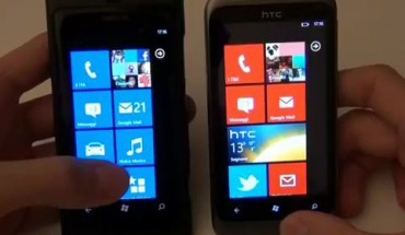 Lumia 800 vs HTC Radar