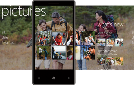 Hub Foto Windows Phone