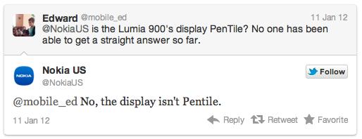 Il tweet di Nokia US
