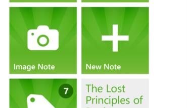 Evernote per Windows Phone