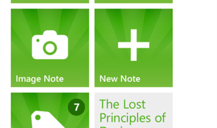 Evernote per Windows Phone
