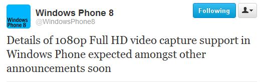 Registrazione Video 1080p