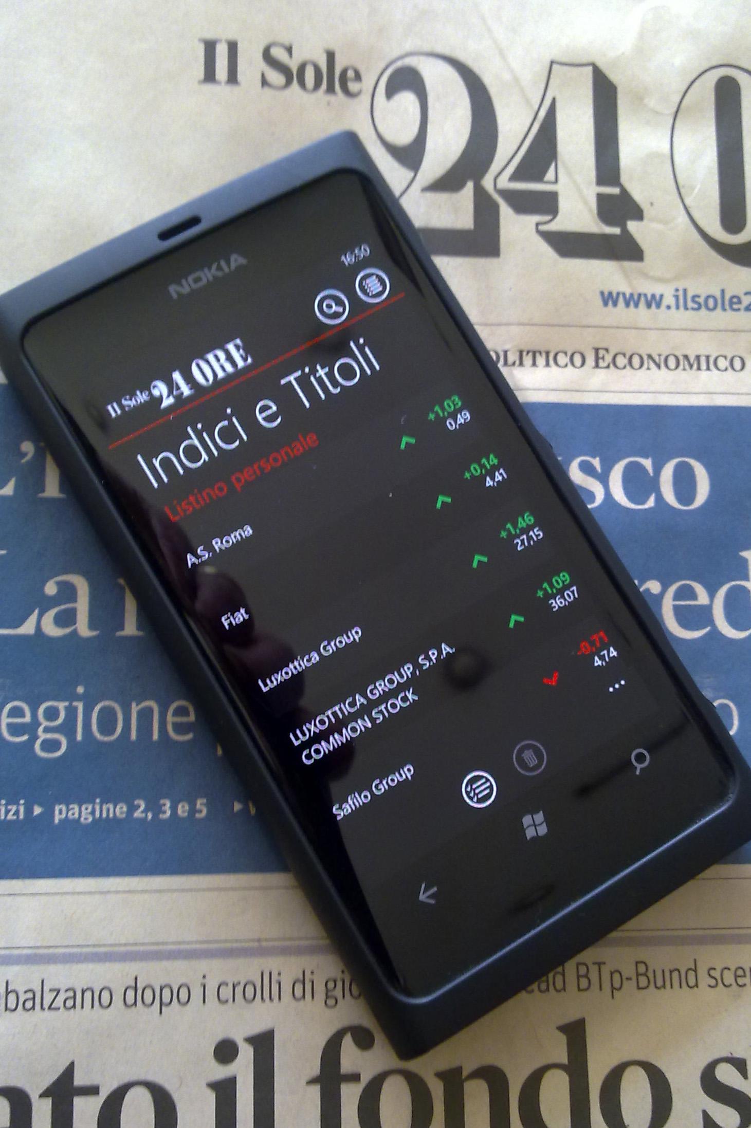 nuovo autentico vendita a buon mercato usa dove posso comprare Il Sole 24 Ore per Windows Phone: News, Finanza e Mercati in un ...