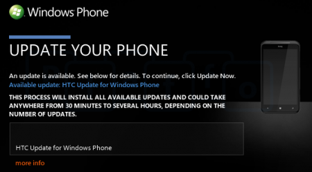 Update Firmware HTC
