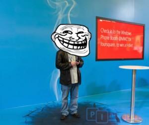 Smoked by Windows Phone