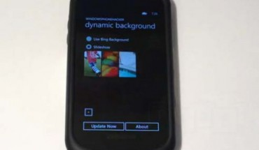 Dynamic Backgound