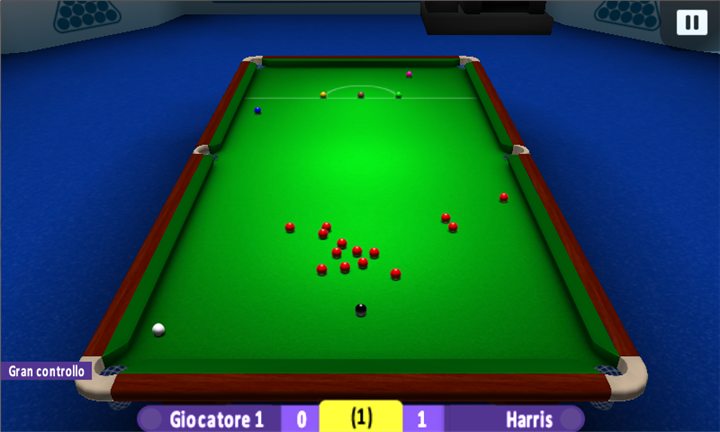 International Snooker, un bel gioco del biliardo in 3D per Windows ...