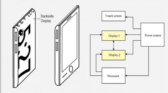 Microsoft brevetto doppio display