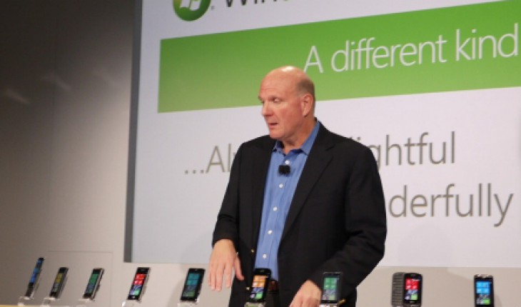 Steve Ballmer Windows Phone