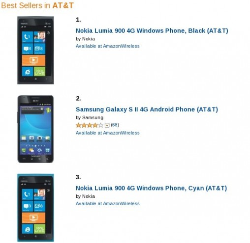 Lumia 900 Best-Seller
