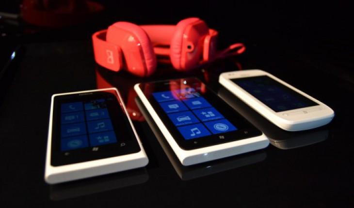 Nokia Lumia 900 e 610