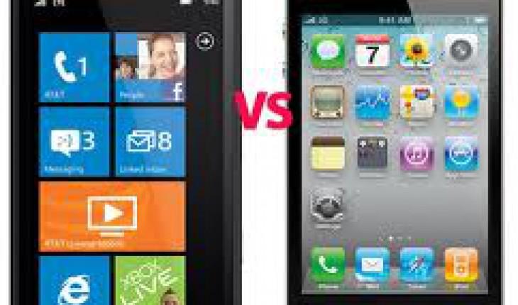 Lumia 900 vs iPhone