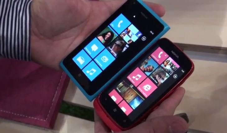 Nokia Lumia 900 e Nokia Lumia 610