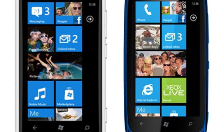 Lumia 900 e Lumia 610