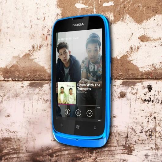 Nokia Lumia 610 Mix Radio