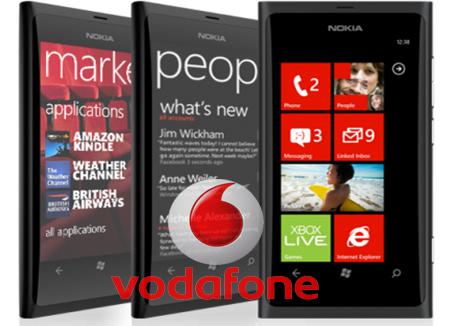 Nokia Lumia 800 Vodafone