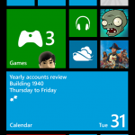 Start Screen Windows Phone 8