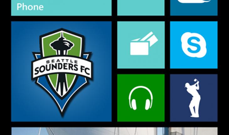 Start Screen Windows Phone 8