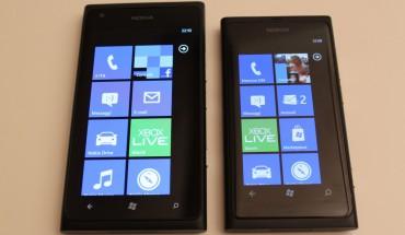 Nokia Lumia 900 e Nokia Lumia 800