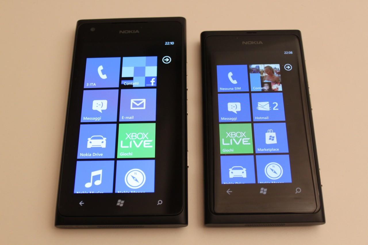 Nokia Lumia 800, nuovo aggiornamento per migliorare ...