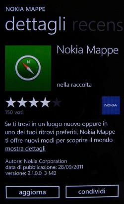 Nokia Maps update v2.1