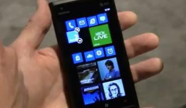 Nokia Lumia 900 con WP7.8