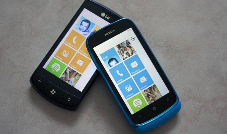 Tango Vs Mango-Lumia 610 vs LG Optimus 7