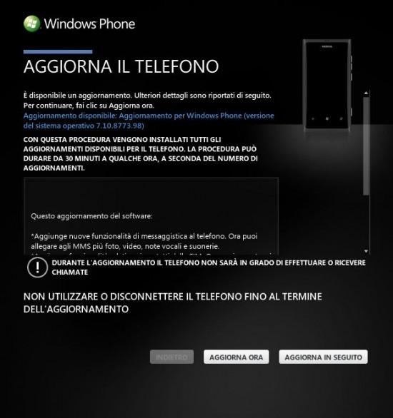 Firmware Update Windows Phone Tango