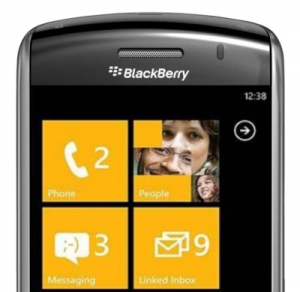 Blackberry con Windows Phone