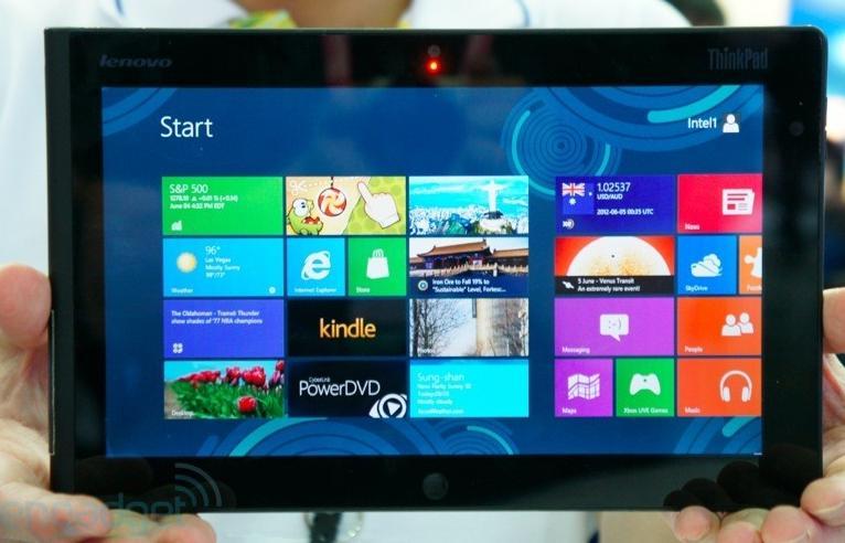 Lenovo ThinkPad Windows 8