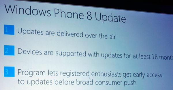 Windows Phone 8 Updates