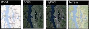 Nokia Mappe in Windows Phone 8