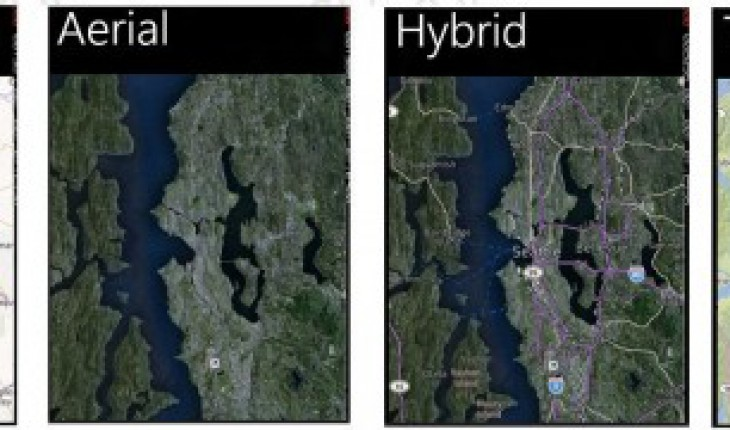 Nokia Mappe in Windows Phone 8