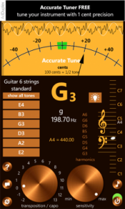 Accurate Tuner Free