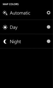 Nokia Drive 3.0 - Modalità notte e giorno