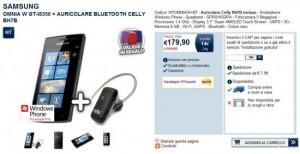 Samsung Omnia W in offerta a 179,90 Euro su Unieuro.it