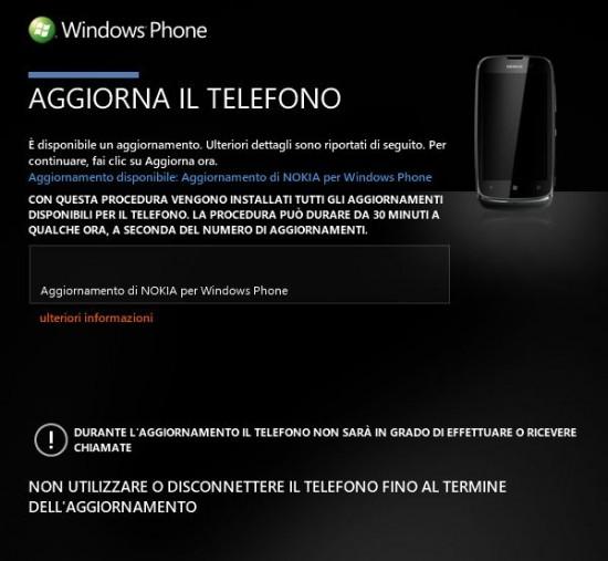 Update Nokia Lumia 610
