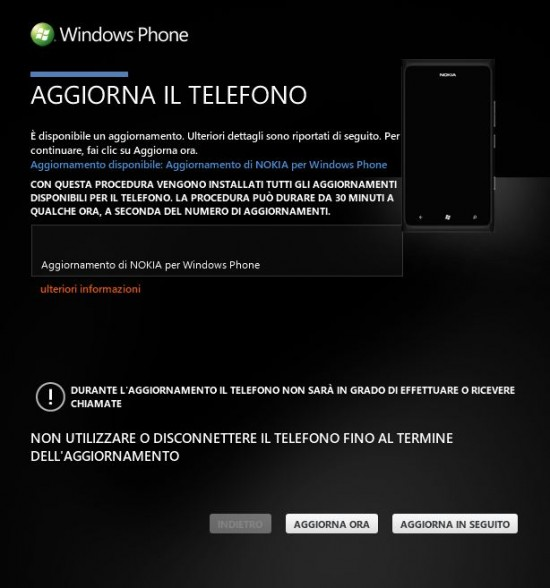 Update Nokia Lumia 900