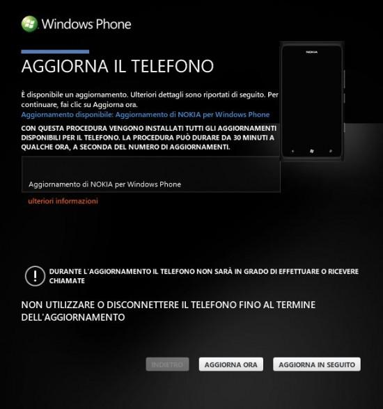 Update Nokia Lumia 900