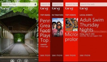 Bing su Windows Phone 8