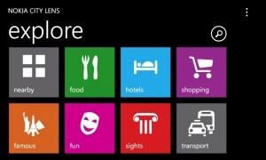 Nokia City Lens beta Lumia