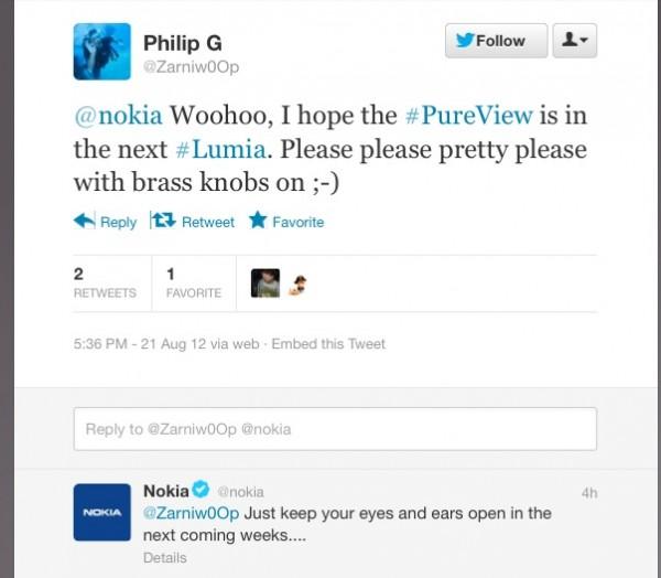 PureView sui futuri Lumia