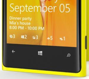 Windows Phone 8 Lockscreen