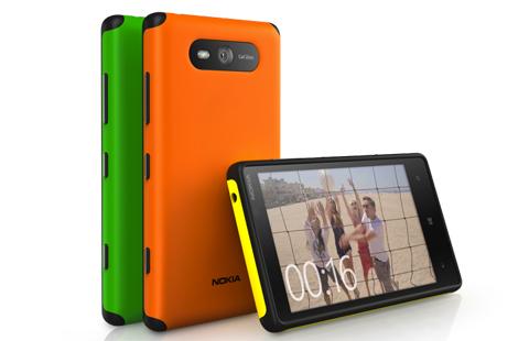 Cover Gommata Nokia Lumia 820